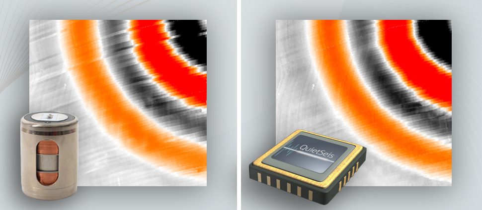Comparison between analog geophones and 3rd MEMS generation